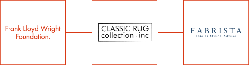 Frank Lloyd Wright Foundation CLASSIC RUG collection. inc FABRISTA